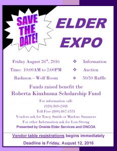 Elder Expo @ Radisson Hotel & Conference Center - Wolf Room | Ashwaubenon | Wisconsin | United States