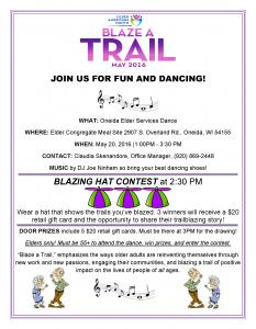 Older American's Month Dance @ Elder Congregate Meal Site | Hobart | Wisconsin | United States