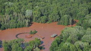 Bad River powwow grounds
