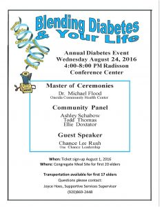 Blending Diabetes & Your Life Event @ Radisson Conference Center | Green Bay | Wisconsin | United States