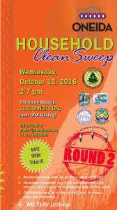 Household Clean Sweep @ Woodland Site