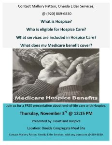 Medicare Hospice Benefits Presenation