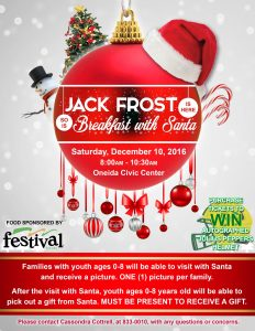 Breakfast With Santa @ Civic Center | Hobart | Wisconsin | United States