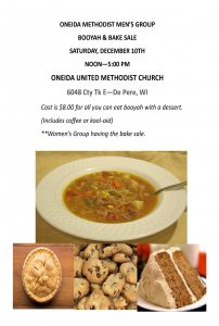 Booyah & Bake Sale @ Oneida Methodist Church | De Pere | Wisconsin | United States