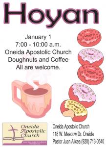 Hoyan @ OAC @ Oneida Apostolic Church | Hobart | Wisconsin | United States