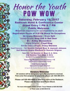 Honor the Youth Pow Wow @ Radisson Hotel & Conference Center | Ashwaubenon | Wisconsin | United States