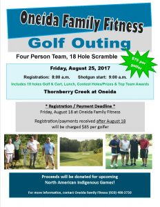 Oneida Family Fitness Golf Outing @ Oneida Family Fitness Golf Outing | Hobart | Wisconsin | United States
