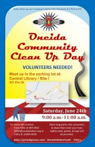 Community Clean Up Day @ Oneida Library / Site I Parking Lot | Hobart | Wisconsin | United States