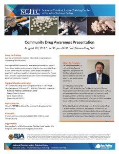 Community Drug Awareness Presentation @ Radisson - Huron/Ontario Room | Ashwaubenon | Wisconsin | United States