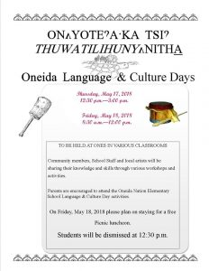 Culture Days @ Oneida Turtle School | Oneida | Wisconsin | United States