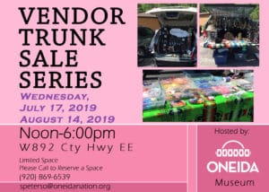Vendor Trunk Sale @ Oneida Nation Museum