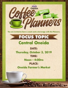 Coffee With The Planners