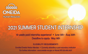 CLICK HERE: For Student Intern Opportunities