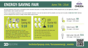 Energy Savings Fair @ Online
